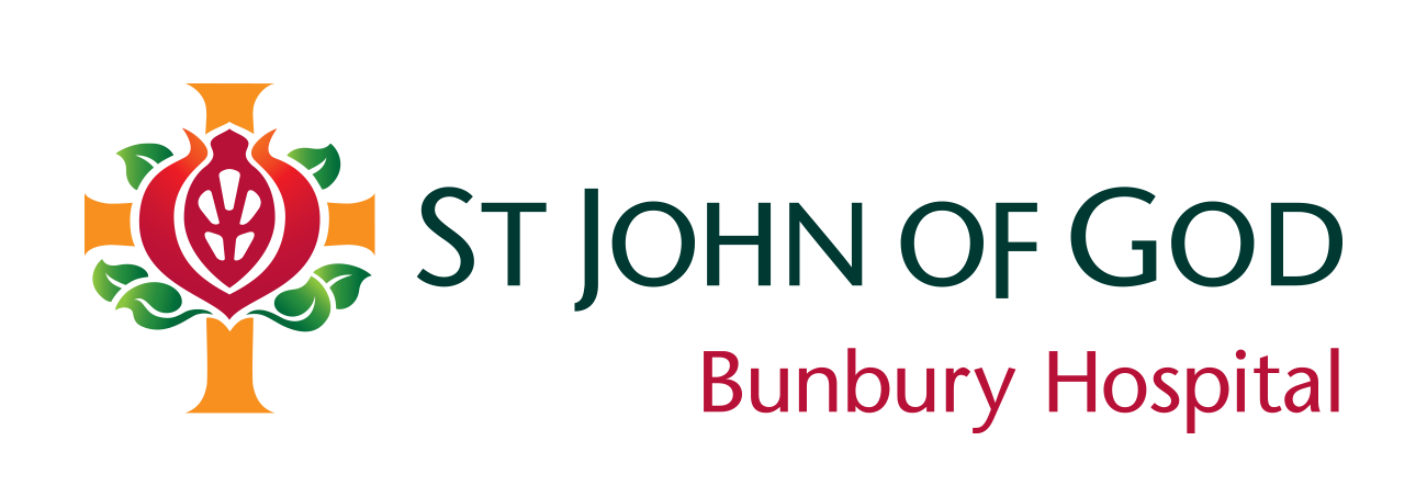 St John of God Bunbury Hospital logo